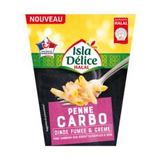 ISLA DELICE Box penne carbo dinde fumée et crème 1 portion 300g