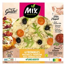 MIX Pizza Gusto aux 4 fromages 380g