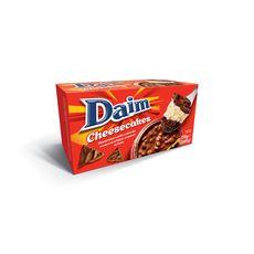 DAIM Cheesecake vanille et chocolat recouvert d'éclats de daim 2x85g