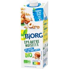 BJORG Boisson épeautre noisette calcium bio sans sucres ajoutés 1l