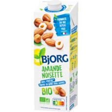 BJORG Boisson gourmande bio amandes noisettes 1l