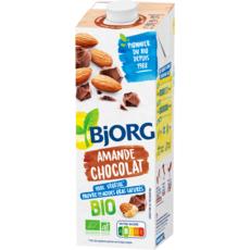 BJORG Lait d'amande chocolat calcium bio 1l