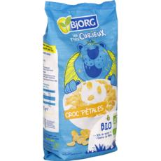 BJORG Les P'tits Curieux Céréales bio croc pétales avec moins de sucre 275g