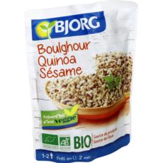 BJORG Boulghour quinoa sésame bio veggie en poche 1 à 2 personnes 250g