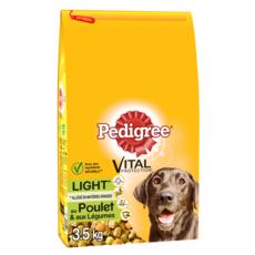 PEDIGREE Croquettes light au poulet et légumes pour chien 3,5kg