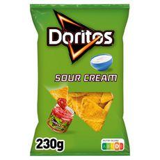 DORITOS Tortillas chips goût sour cream 230g