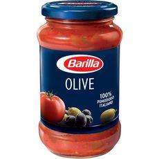 BARILLA Sauce tomate aux olives, en bocal 400g