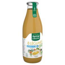 FERME D'ANCHIN Soupe 8 légumes bio sel réduit de 30% 98,5cl