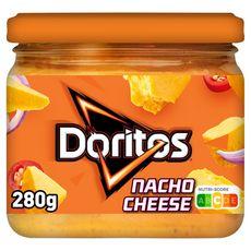 DORITOS Sauce tortillas goût nacho cheese  280g
