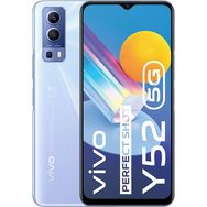 VIVO Smartphone  Y52  5G  128 Go  6.58 pouces  Bleu  Double Nano Sim