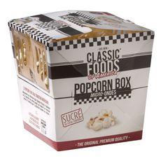 CLASSIC FOODS OF AMERICA Pop corn sucré micro-ondable 100g