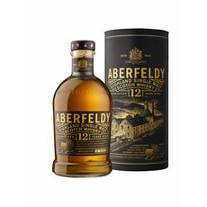 ABERFELDY Scotch whisky single malt ecossais 40% 12 ans avec étui 70cl