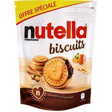 NUTELLA Biscuits croquants au cœur onctueux de Nutella 22 pièces  304g