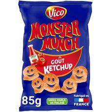 MONSTER MUNCH Goût ketchup sans huile de palme 85g