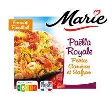 MARIE Paëlla royale aux petites gambas et safran 4 portions 900g