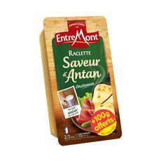 ENTREMONT Raclette saveur d'antan onctueuse 15 tranches 350+100g offerts