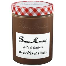 BONNE MAMAN Pâte à tartiner noisettes et cacao 580g