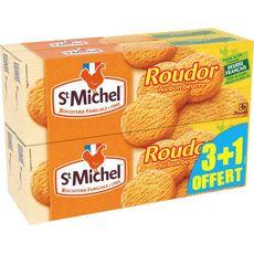 ST MICHEL Roudor biscuits sablés au beurre 3x150g +150g offert