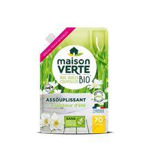 MAISON VERTE Assouplissant fraicheur d'été aux huiles essentielles bio 70 lavages 1.4l