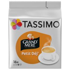TASSIMO Dosettes de café Grand'Mère petit déj' 16 dosettes 133g