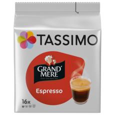 TASSIMO Dosettes de café Grand'Mère espresso 16 dosettes 104g