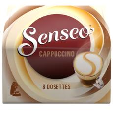 SENSEO Dosettes de café cappuccino 8 dosettes 92g