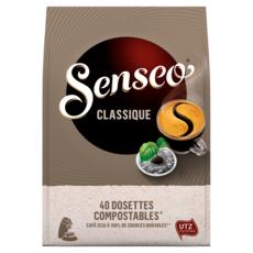SENSEO Dosettes de café classique 40 dosettes 277g