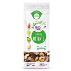 DACO BELLO Mélange d'amandes, raisins, pommes et noix de cajou 200g