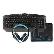 QILIVE Bundle Gaming 4 en 1 Q.3620 - Noir et bleu