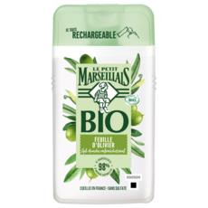 LE PETIT MARSEILLAIS Gel douche bio rafraichissant feuilles d'olivier 250ml