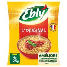 EBLY Blé précuit 4 sachets 500g