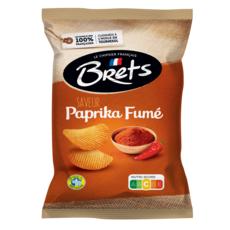 BRETS Chips saveur paprika fumé  125g