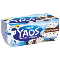 YAOS Yaourt à la grecque façon stracciatella 4x125g