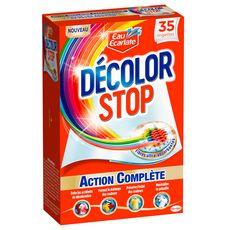 DECOLOR STOP Lingettes anti-décoloration action complète 35 lingettes