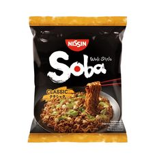 NISSIN Soba nouilles asiatiques sautées classiques 109g