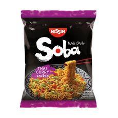 NISSIN Soba nouilles asiatiques sautées thaï 109g