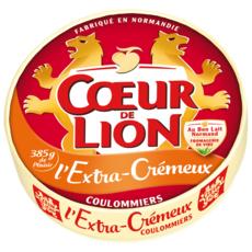 COEUR DE LION Coulommiers extra crémeux 385g
