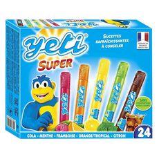 Yetigel YETI Super sucettes rafraîchissantes à congeler cola menthe fruits