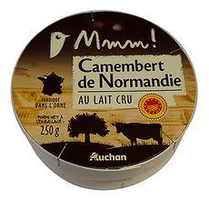 AUCHAN MMM! Camembert de Normandie AOP 250g