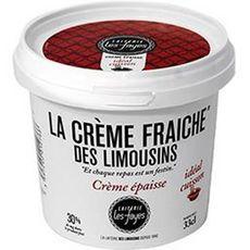 LAITERIE LES FAYES Crème fraiche épaisse 30%MG 33cl