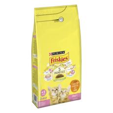 FRISKIES Junior croquettes au poulet et aux légumes pour chaton 2kg