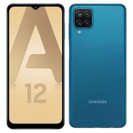 SAMSUNG Smartphone Galaxy A12  Bleu
