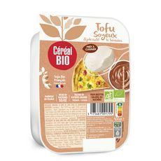 CEREAL BIO Tofu soyeux prêt à cuisiner 4 portions 400g