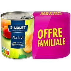 ST MAMET Abricot au sirop 2 boites 1,64kg