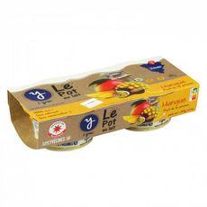 I-GREC Le pot au lait yaourt à la mangue 2x130g