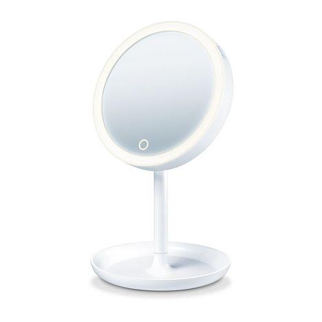 BEURER Miroir cosmétique éclairé BS 45 - Blanc
