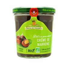 LES COMTES DE PROVENCE Crème de marrons bio 320g