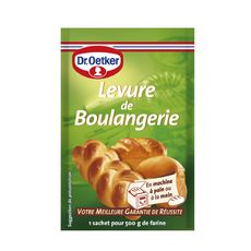 DR OETKER Levure de boulangerie 3 sachets 21g