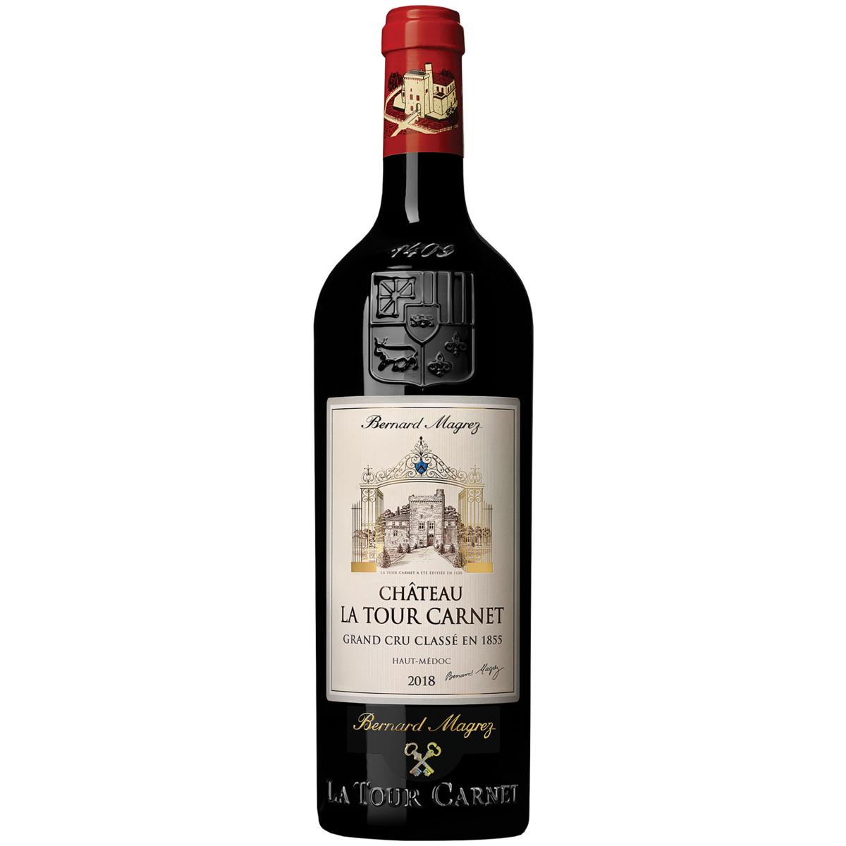 AOP Haut-Médoc Château La Tour Carnet grand cru classé rouge 2018