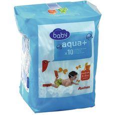 AUCHAN BABY Culotte de bain Taille 3 10 pièces